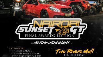Nairobi Sunset Gt | Car Show – 2019 Final Awards Edition